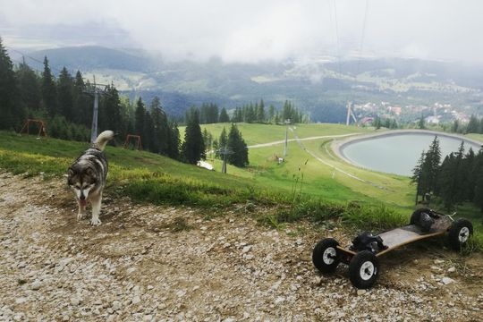 Mountain Board ride - Brasov - Just a small piece of today's run. See you next time guys !!! - Featured image